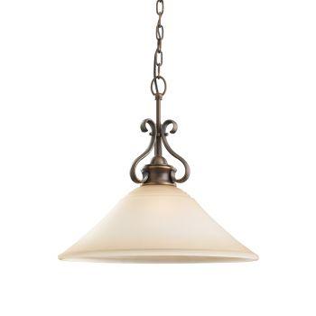 Sea Gull Lighting Parkview 1-Light Pendant in Russet Bronze