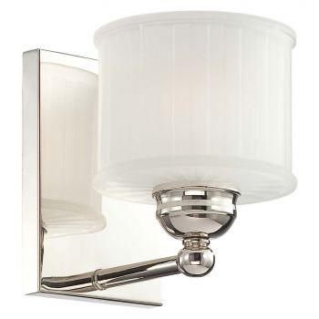 "Minka Lavery 1730 Series 6"" Bathroom Vanity Light in Polished Nickel"