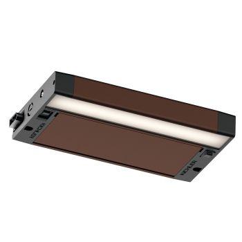 """Kichler 6U Series LED 8"""" 2700K/3000K Under Cabinet in Textured Bronze"""