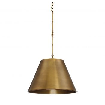 Savoy House Alden 1-Light Pendant in Warm Brass
