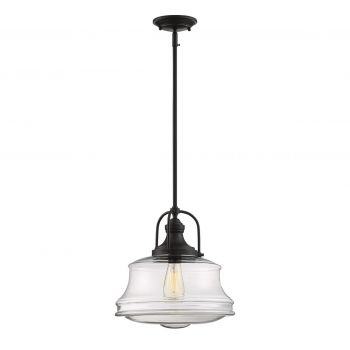 Savoy House Garvey 1-Light Pendant in English Bronze