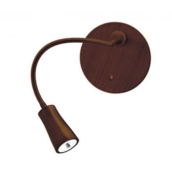 "Access Lighting Epiphanie 16"" Gooseneck Wall Lamp in Bronze"