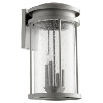 "Quorum International Hadley 4-Light 18"" Outdoor Wall Light in Graphite"