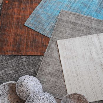Uttermost Medanos 8 x 10 Vintage Distressed Look Wool Rug in Gray/Ivory