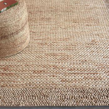 Uttermost Hana 5 x 8 Hand Woven Rug in Natural Hemp