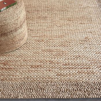 Uttermost Hana 8 x 10 Hand Woven Rug in Natural Hemp