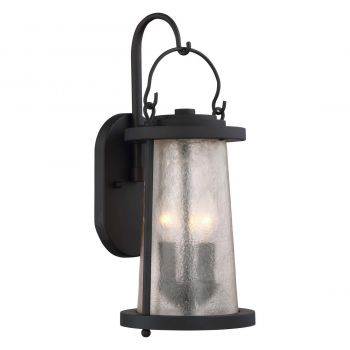 "The Great Outdoors Haverford Grove 3-Light 17"" Outdoor Wall Light in Oil Rubbed Bronze"