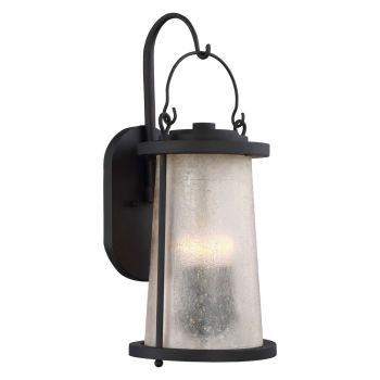 """The Great Outdoors Haverford Grove 4-Light 22"""" Outdoor Wall Light in Oil Rubbed Bronze"""