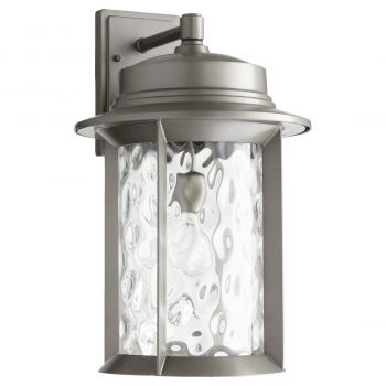 "Quorum International Charter 19"" Outdoor Wall Light in Graphite"