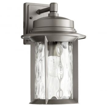 "Quorum International Charter 16"" Outdoor Wall Light in Graphite"