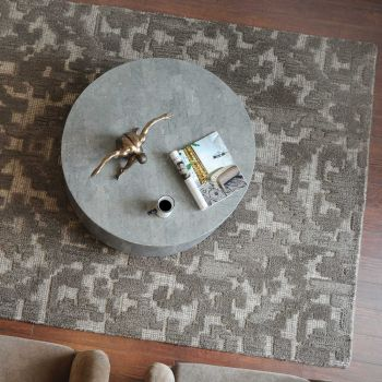 Uttermost Ebro 8 x 10 Abstract Design Rug in Gray