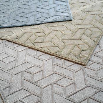 Uttermost Vigo 5 x 8 Contemporary Design Rug in Sand Beige