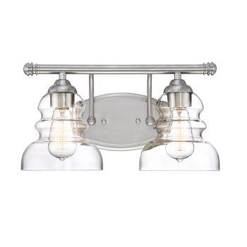 Millennium Lighting 7000 Series 2-Light Bath Vanity in Satin NIckel