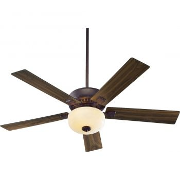 """Quorum Rothman 52"""" 2-Light Indoor Ceiling Fan in Toasted Sienna"""