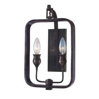 Hudson Valley Rumsford Wall Sconce in Bronze