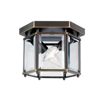 Sea Gull Lighting Bretton 2-Light Ceiling Light in Heirloom Bronze