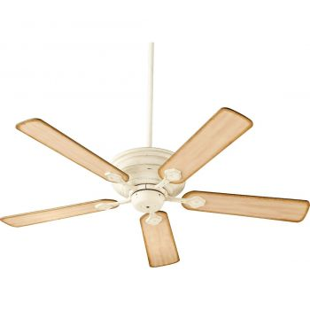"Quorum Barclay 52"" 5-Blade Ceiling Fan in Persian White"