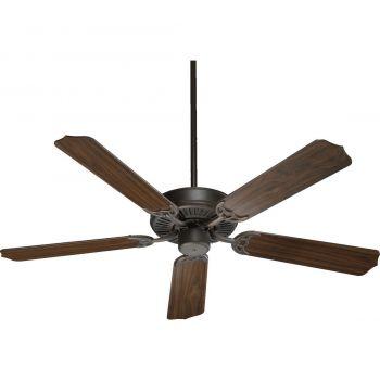 "Quorum Capri I 52"" 5-Blade Indoor Ceiling Fan in Oiled Bronze"