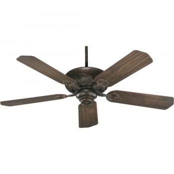 "Quorum Chateaux 52"" 5-Blade Ceiling Fan in Corsican Gold"