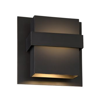 Modern Forms Pandora 2-Light Outdoor Wall Light in Oil Rubbed Bronze