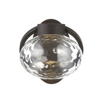 Modern Forms Boule 1-Light Outdoor Wall Light in Oil Rubbed Bronze