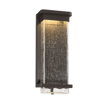 Modern Forms Vitrine 1-Light Outdoor Wall Light in Bronze