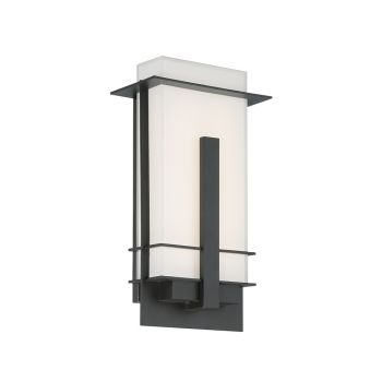 Modern Forms Kyoto 1-Light Outdoor Wall Light in Bronze