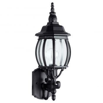 """Quorum International Croix 20"""" Outdoor Wall Light in Black"""
