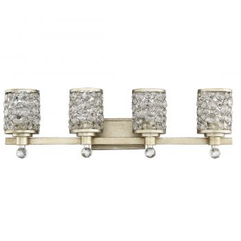 "Savoy House Guilford 32"" 4-Light Bathroom Vanity Light in Aurora"