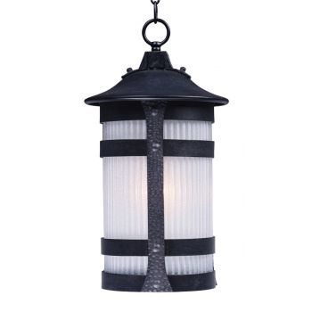 "Maxim Lighting Casa Grande EE 18.5"" Outdoor Hanging Lantern in Anthracite"