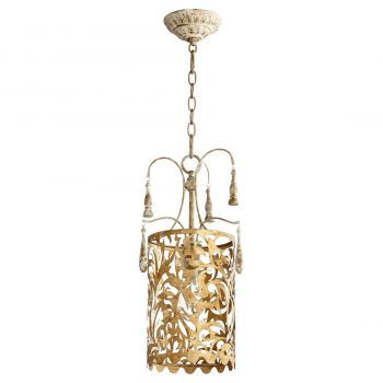 "Quorum Leduc 11"" Pendant in Florentine Gold"