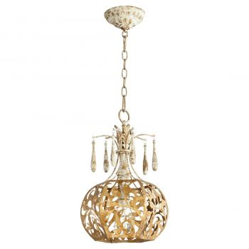 "Quorum Leduc 11.25"" Pendant in Florentine Gold"