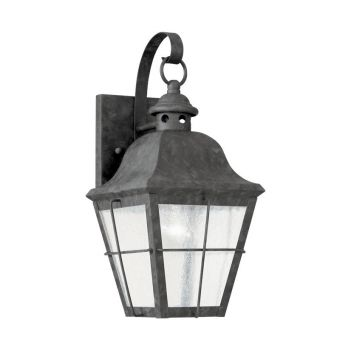 Sea Gull Lighting Chatham Small LED Outdoor Wall Lantern in Oxidized Bronze