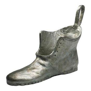 "Cyan Design Shoe Token 12.5"" Cast Iron Sculpture in Pewter"