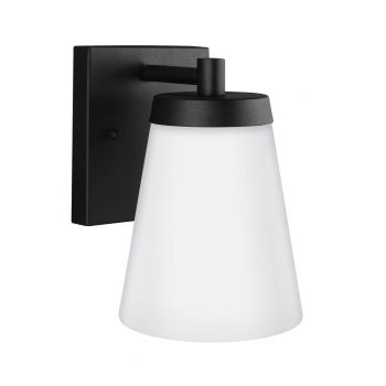 """Sea Gull Lighting Renville 5.25"""" Outdoor Wall Sconce in Black"""