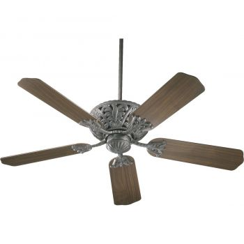 "Quorum Windsor 52"" 5-Blade Indoor Ceiling Fan in Toasted Sienna"