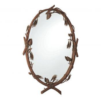 Kalco Ponderosa Mirror in Ponderosa Finish