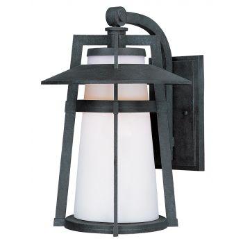 "Maxim Lighting Calistoga 12.5"" LED Outdoor Satin White Wall Mount in Adobe"