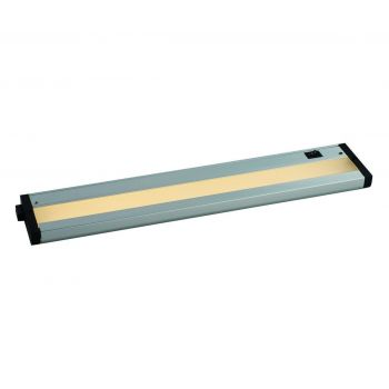 "Maxim Lighting CounterMax MX L 18"" LED Under Cabinet in Brushed Aluminum"