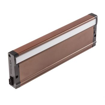 """Kichler 8U Series LED 12.5"""" 2700K Under Cabinet in Textured Bronze"""