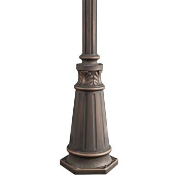 """Kichler 72"""" Outdoor Post w/Base in Londonderry"""