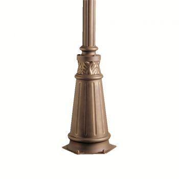 "Kichler 72"" Outdoor Post w/Base in Olde Bronze"