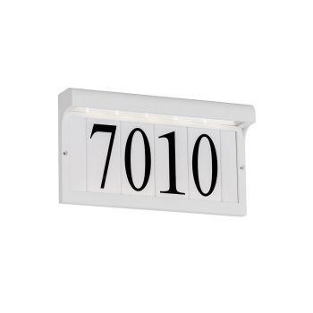 """Sea Gull Lighting LED Address Light 12.25"""" Address Light in White"""