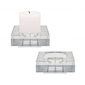 ELK Home Candleholders in Clear