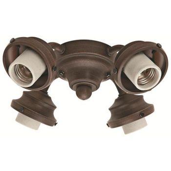 Hunter 4-Light Fan Fitter in Cocoa