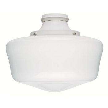 Hunter Outdoor Ceiling Fan Light Kit in White