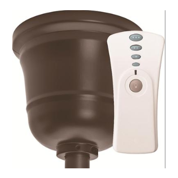 Hunter Original Ceiling Fan Control and Canopy Kit in Chestnut Brown