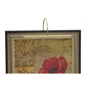 "House of Troy Advent Profile 16"" Polished Brass Picture Light"