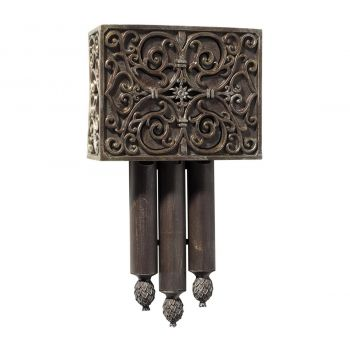 Craftmade Westminster Short Chime in Hand Painted Renaissance Crackle
