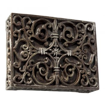 Craftmade Westminster Box Chime in Hand Painted Renaissance Crackle